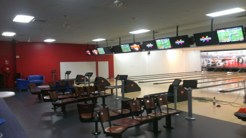 Club300 Players Area Finished Floor Furniture for Bowling