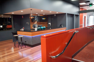 Club 300 Bowling Center Reception